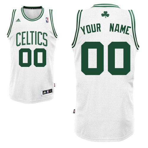 Custom, Boston Celtics [White]