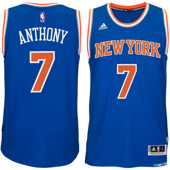Carmelo Anthony, New York Knicks [Bleu]