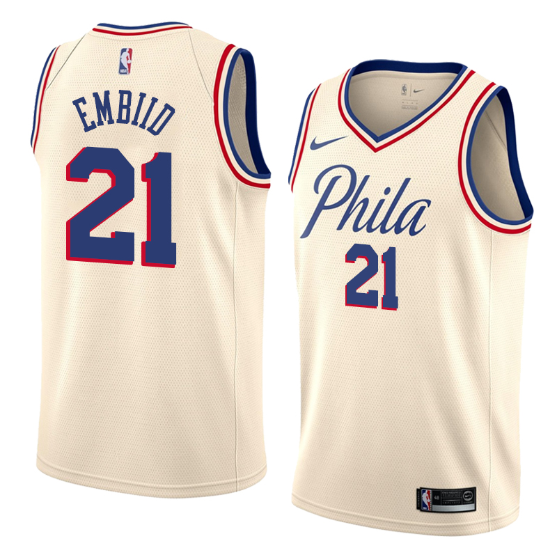 Joel Embiid, Philadelphia 76ers - City Edition