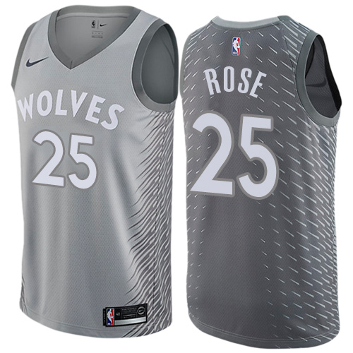 Derrick Rose, Minnesota Timberwolves - City Edition