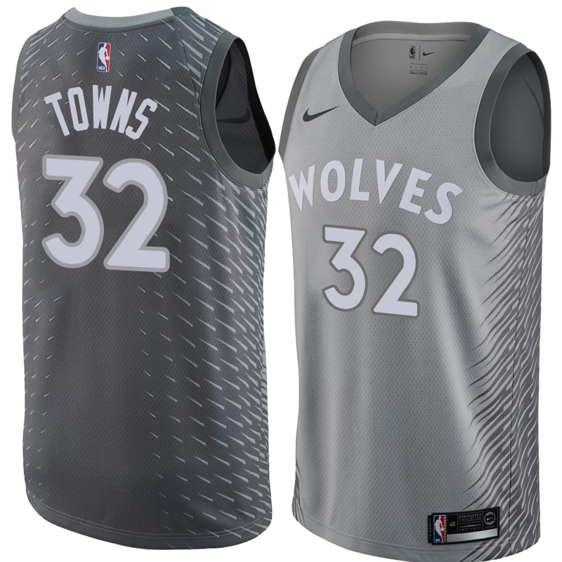 Karl-Anthony Towns, Minnesota Timberwolves - City Edition