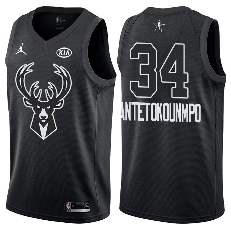 Giannis Antetokounmpo - 2018 All-Star Black