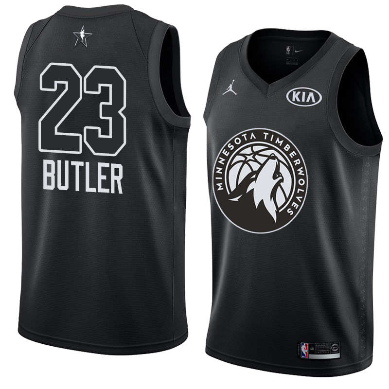 Jimmy Butler - 2018 All-Star Black