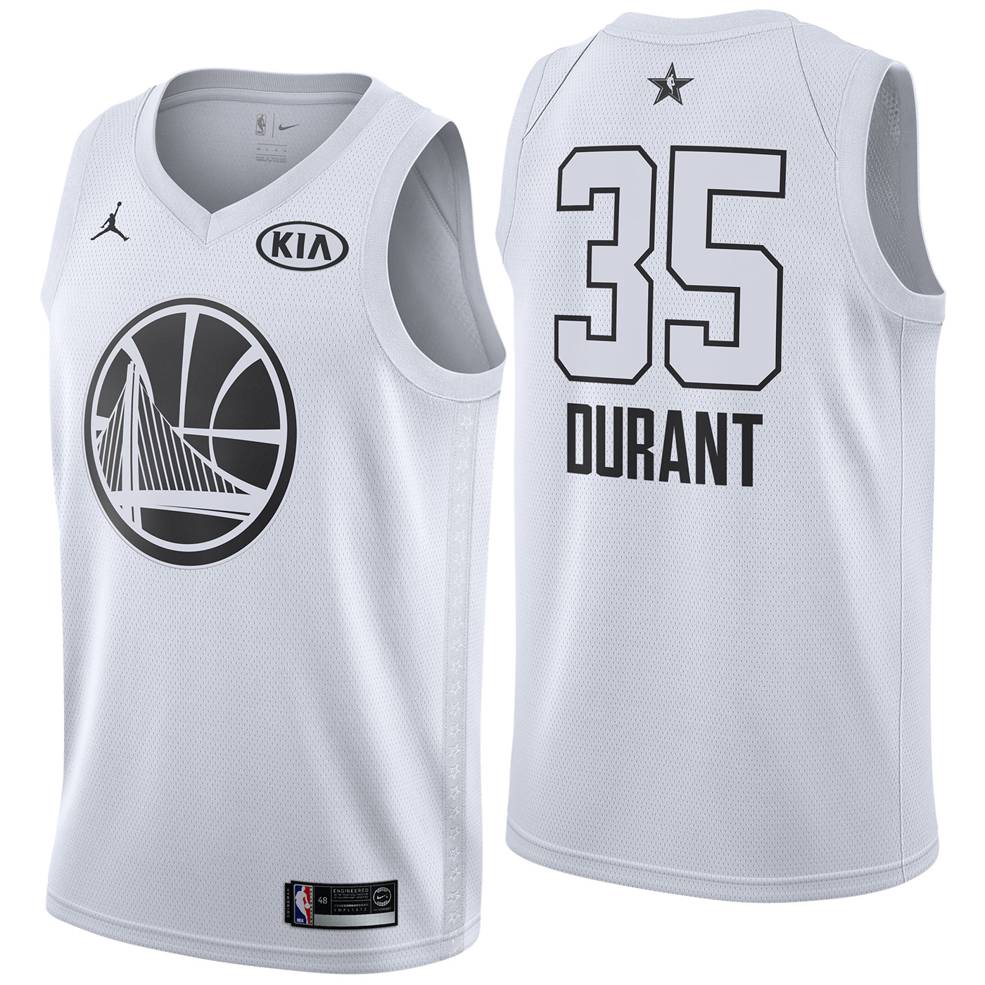 Kevin Durant - 2018 All-Star White