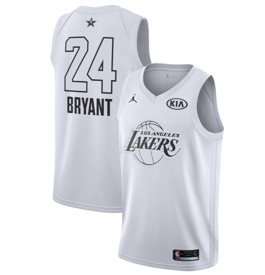 Kobe Bryant - 2018 All-Star White