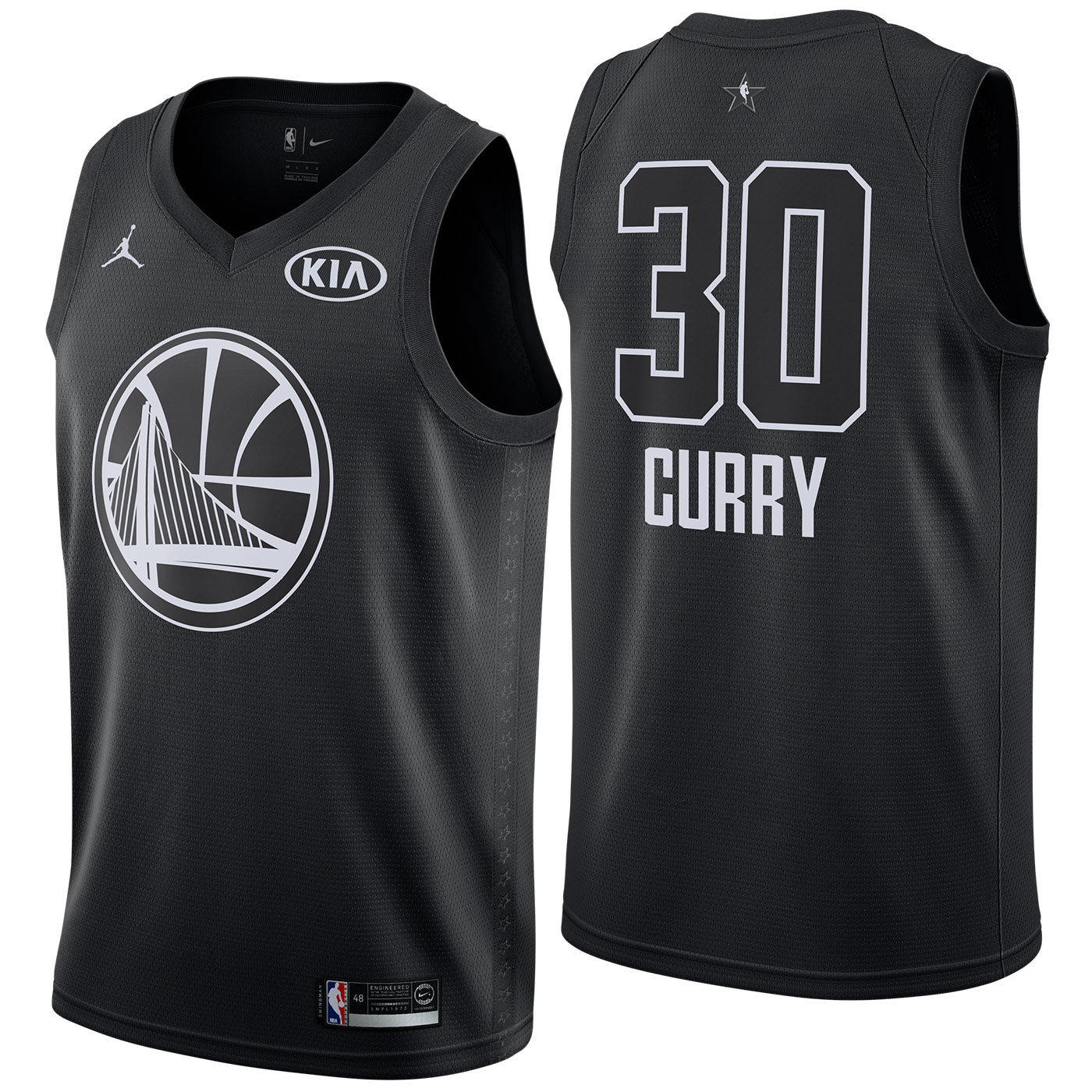 Stephen Curry - 2018 All-Star Black