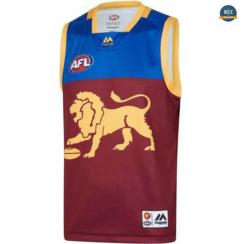 Max Maillot Rugby AFL Brisbane Lions 2019/20