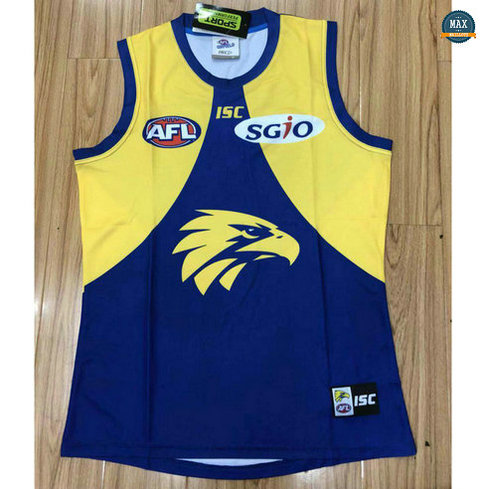 Max Maillot Rugby Debardeur West Coast Eagles 2018/19