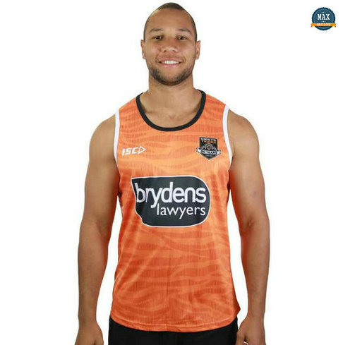Max Maillot Rugby Debardeur Wests Tigers 2019/20