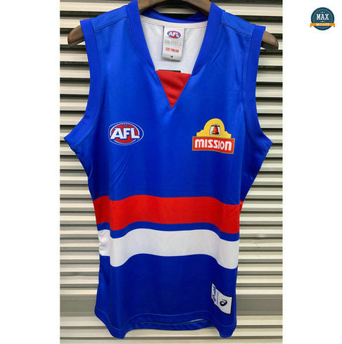 Max Maillot Rugby AFL Western Bulldogs 2019/20