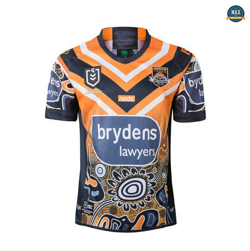 Max Maillot Rugby Wests Tigers Édition de héros 2019/20