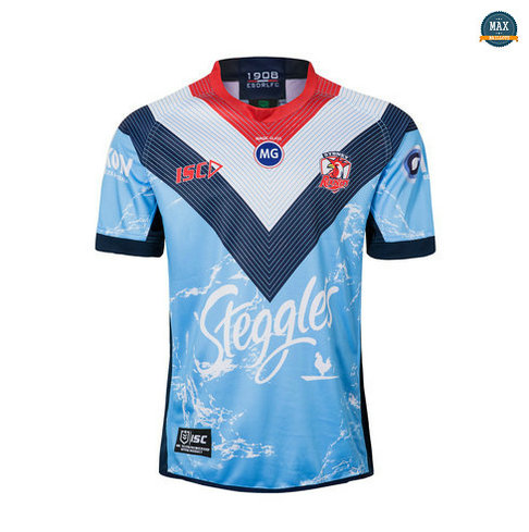 Max Maillot Rugby Australie Sydney Roosters EntraInement 2019/20