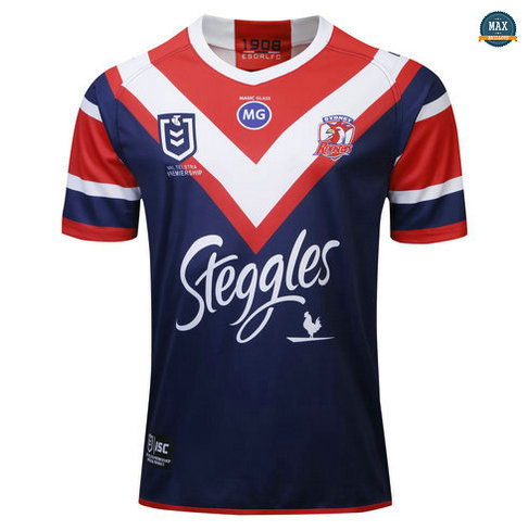 Max Maillot Rugby Australie Sydney Roosters Domicile 2019/20