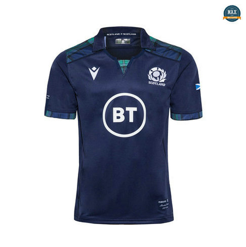 Max Maillot Rugby Ecosse Domicile 2019/20
