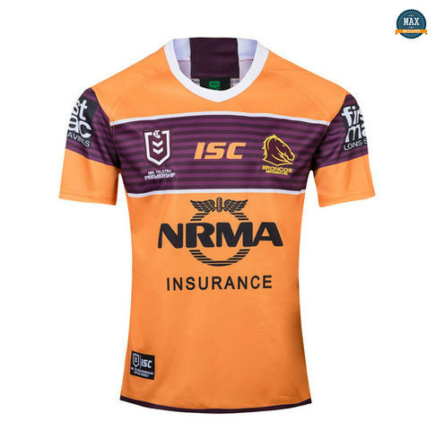 Max Maillot Rugby Brisbane Broncos Exterieur 2019/20