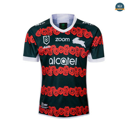 Max Maillot Rugby South Sydney Rabbitohs édition souvenir 2019/20