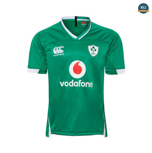 Max Maillot Rugby Irlande Domicile 2019/20
