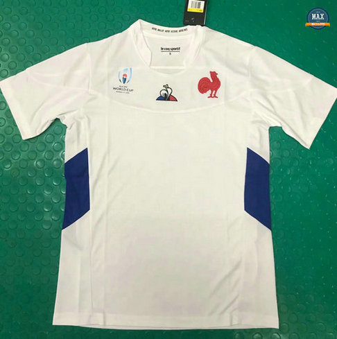 Max Maillot Rugby France Coupe du monde 2019/20 Blanc