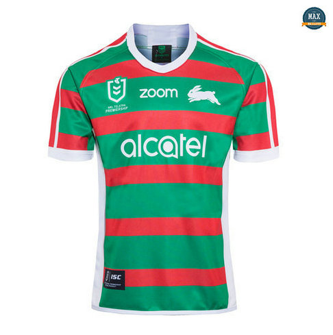 Max Maillot Rugby South Sydney Rabbitohs Exterieur 2020/21