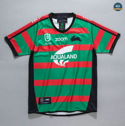 Max Maillot Rugby NRL South Sydney Rabbitohs Domicile 2020/21