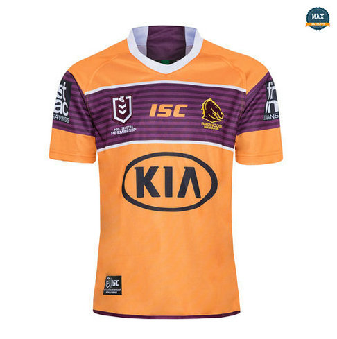 Max Maillot Rugby NRL Brisbane Broncos Exterieur 2020/21