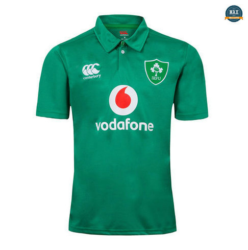 Max Maillot Rugby Irlande POLO Vert 2019/20