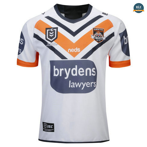Max Maillot Rugby Wests Tigers Exterieur 2019/20