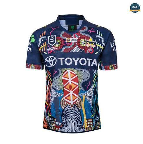 Max Maillot Rugby North Queensland Cowboys édition souvenir 2019/20