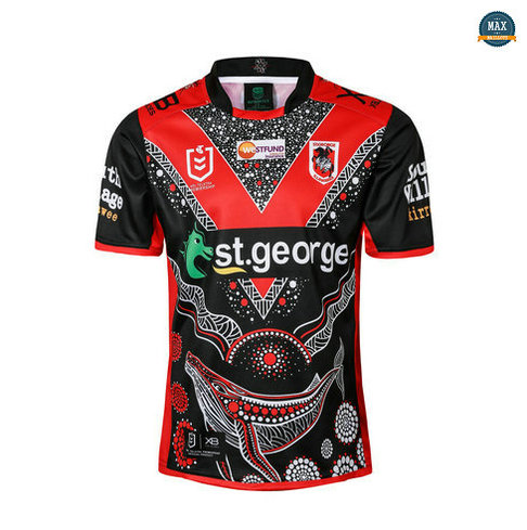 Max Maillot Rugby St George Illawarra Dragons Édition de héros 2019/20