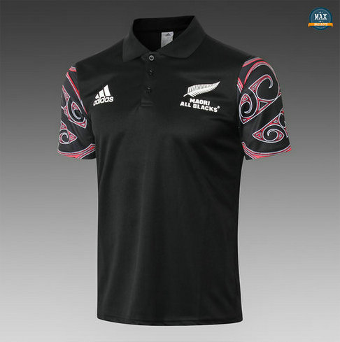 Max Maillot Rugby All Blacks Maori polo 2019/20