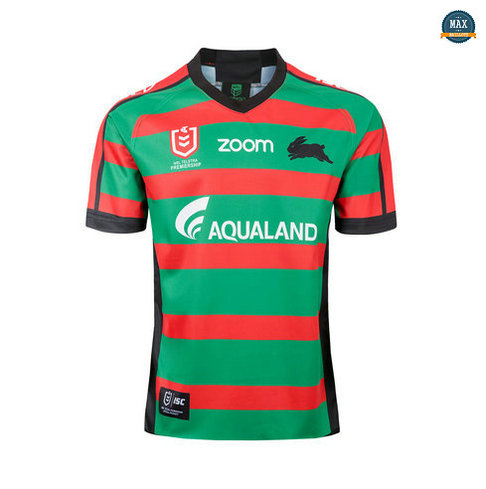 Max Maillot Rugby South Sydney Rabbits Domicile 2019/20