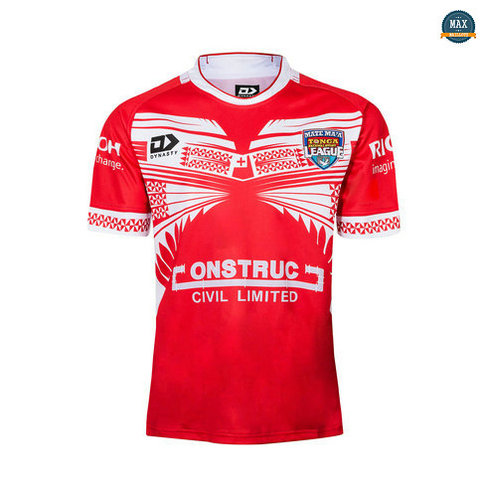 Max Maillot Rugby Tonga Domicile 2019/20