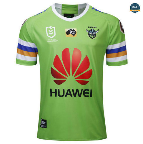 Max Maillot Rugby Canberra Raiders Domicile 2019/20