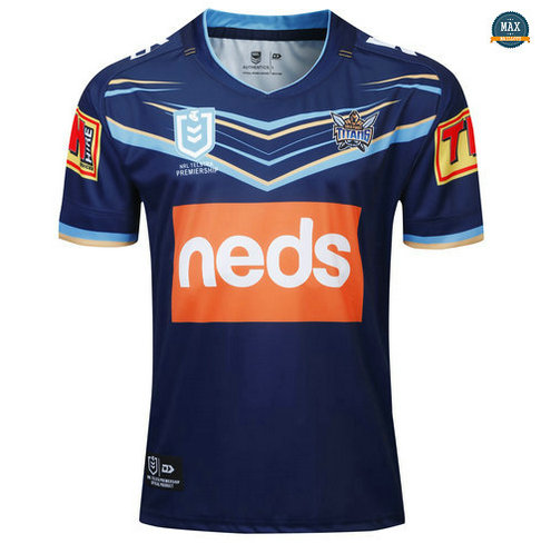 Max Maillot Rugby Gold Coast Titans 2019/20