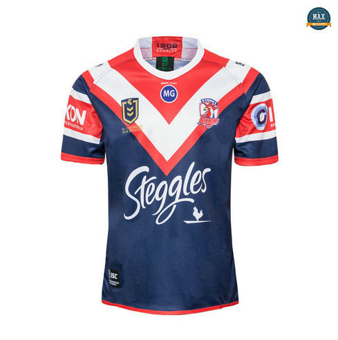 Max Maillot Rugby Sydney Roosters champion 2019/20