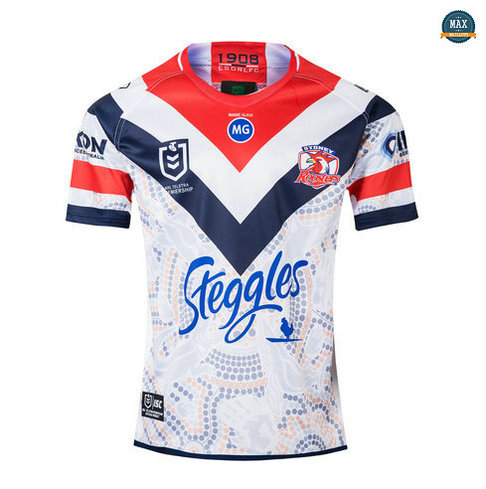 Max Maillot Rugby Australie Sydney Roosters Édition de héros 2019/20