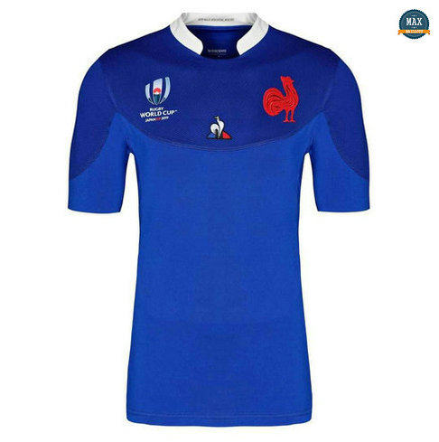 Max Maillot Rugby France Domicile Coupe du monde 2019/20