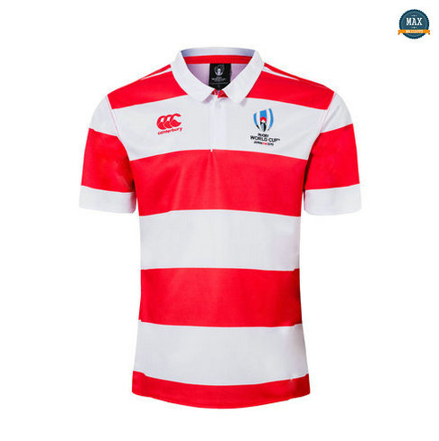 Max Maillot Rugby Japon POLO Coupe du monde 2019/20
