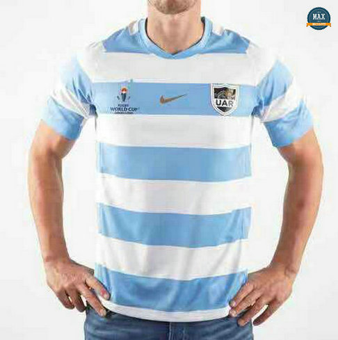 Max Maillot Rugby Argentine Coupe du monde 2019/20