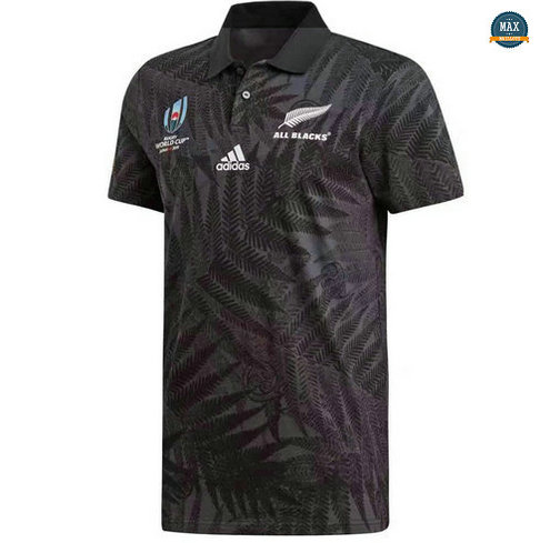 Max Maillot Rugby New Zealand All Blacks POLO Coupe du monde 2019/20