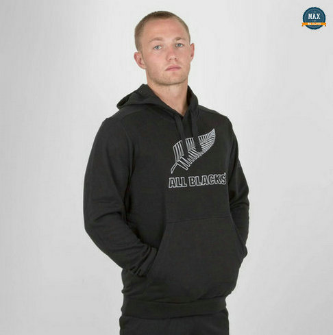 Max Maillot Rugby Sweat à capuche All Blacks 2019/20