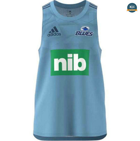 Max Maillot Rugby Debardeur Blues 2020/21