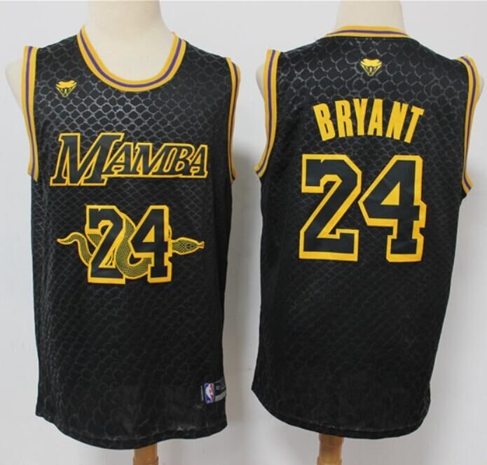 Kobe Bryant, Los Angeles Lakers 'Black Mamba' serpent